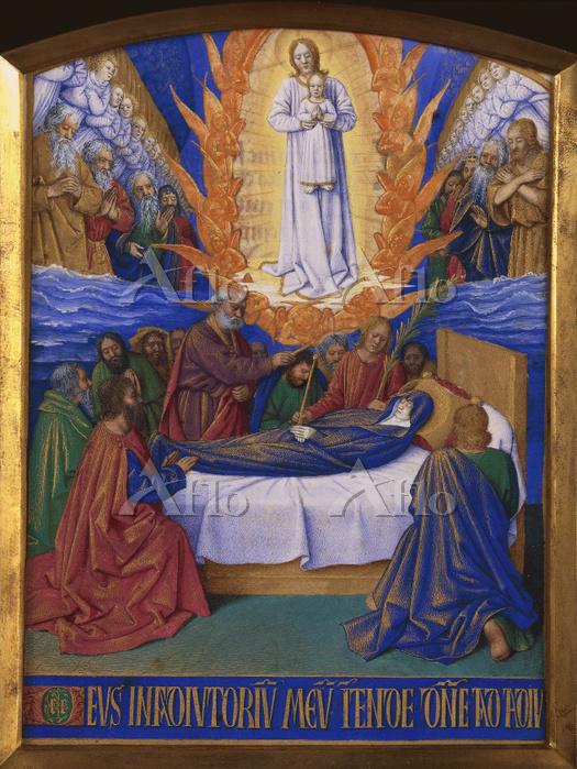 ジャン・フーケ 「聖母の死」