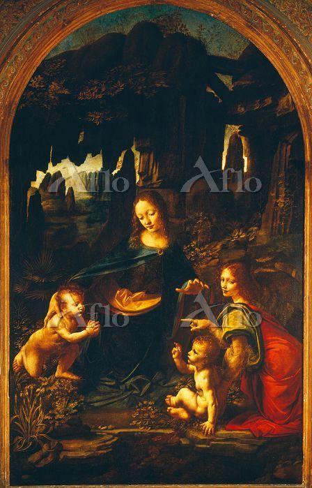 レオナルド・ダ・ヴィンチ 「岩窟の聖母」(ルーヴル美術館)