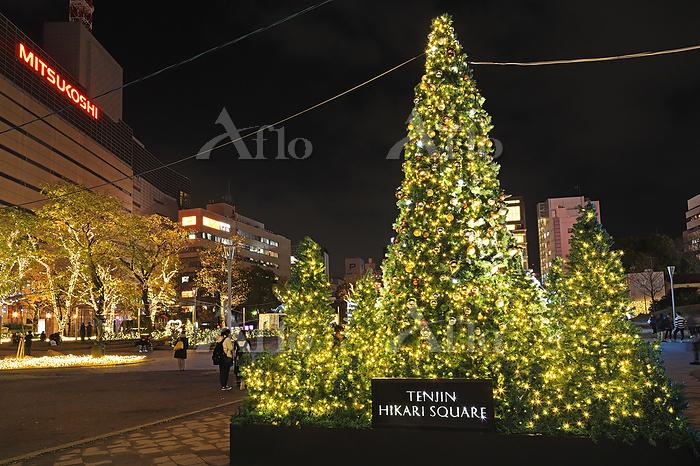 福岡県 福岡市警固公園のクリスマス2019