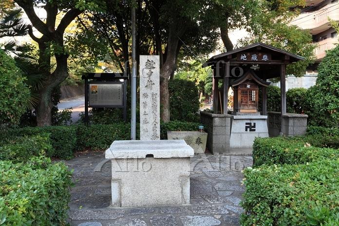 大阪府 細川忠興邸の越中井