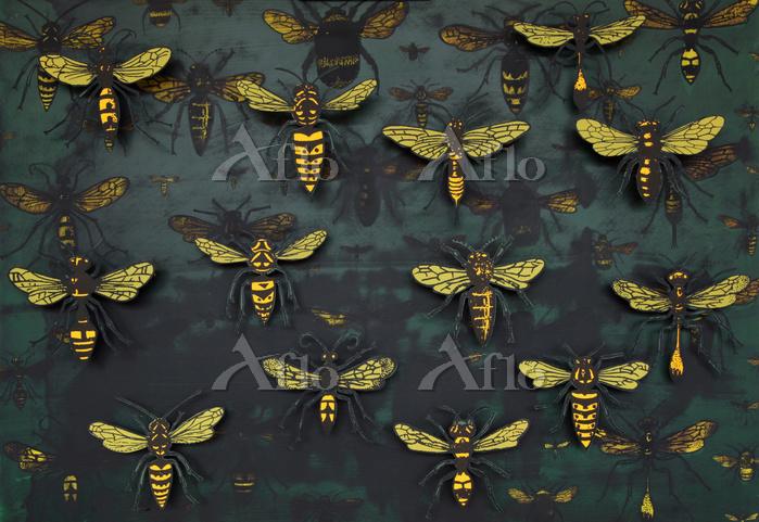 Swarm (detail), 2015, ( box co・・・