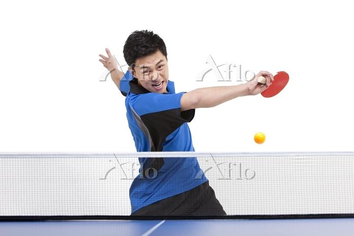 卓球の選手