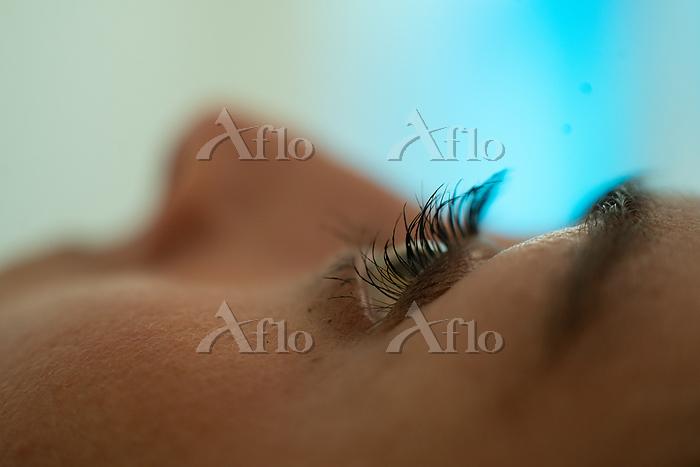 Woman's lashes Photo by Gordon・・・