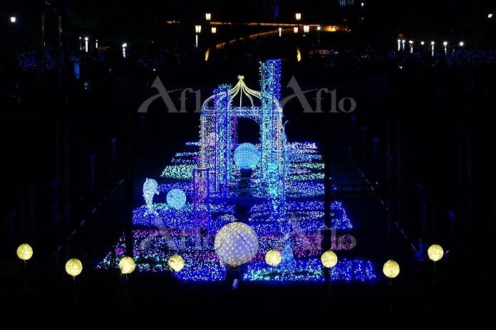 大阪府 大阪市光の饗宴2015
