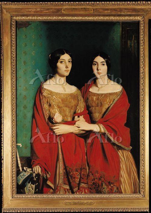 シャセリオー 「シャセリオー嬢、あるいは二人姉妹」