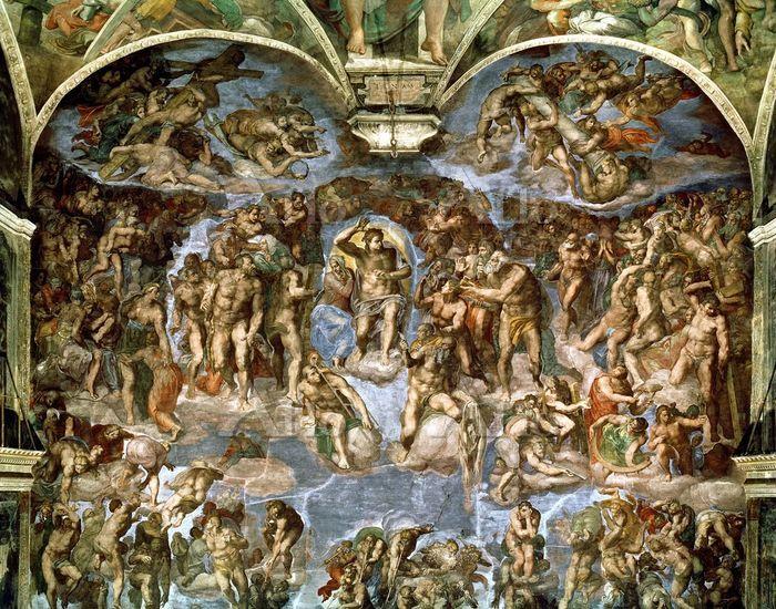 ミケランジェロ  「最後の審判」