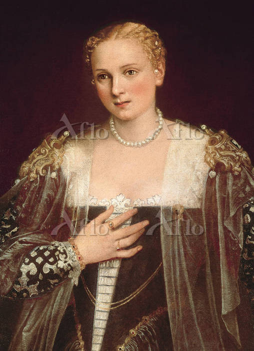 ヴェロネーゼ 「女性の肖像(ラ・ヴェッラ・ナーニ)」