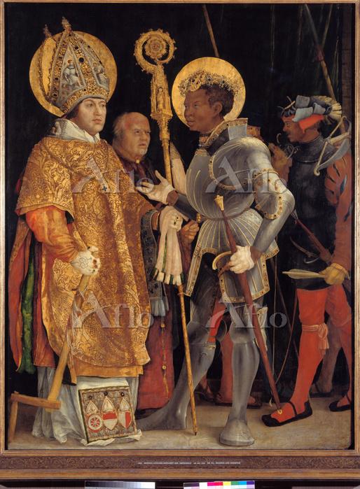 マティアス・グリューネヴァルト 「聖エラスムスと聖マウリティ・・・