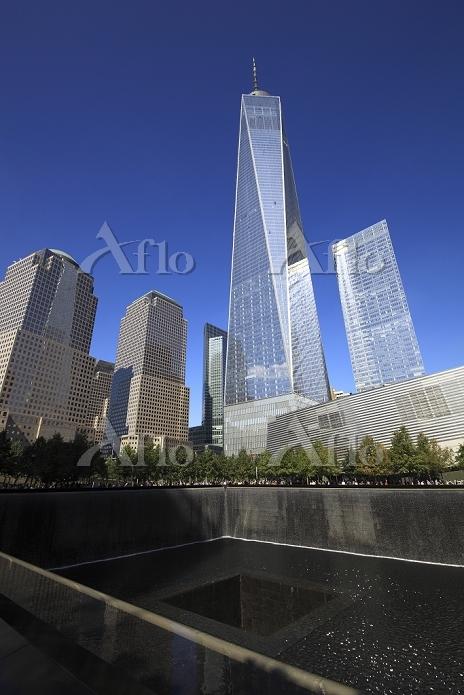 ニューヨーク ワン・ワールド・トレードセンター   9/11・・・