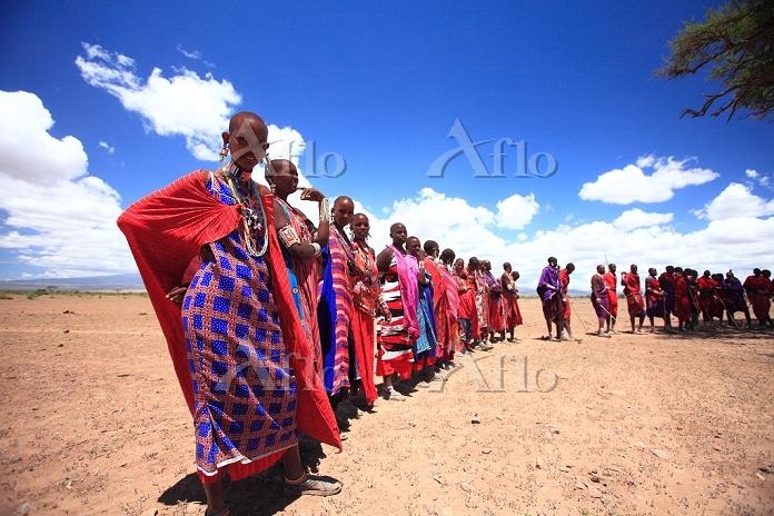 アフリカ マサイ族