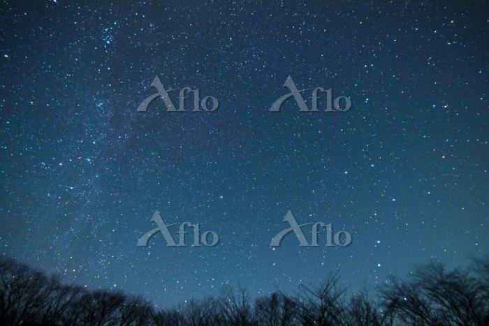 北極星を中心にカシオペヤ座と北斗七星の動き(9-3) 201・・・