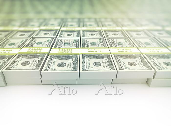 US dollar banknotes, illustrat・・・