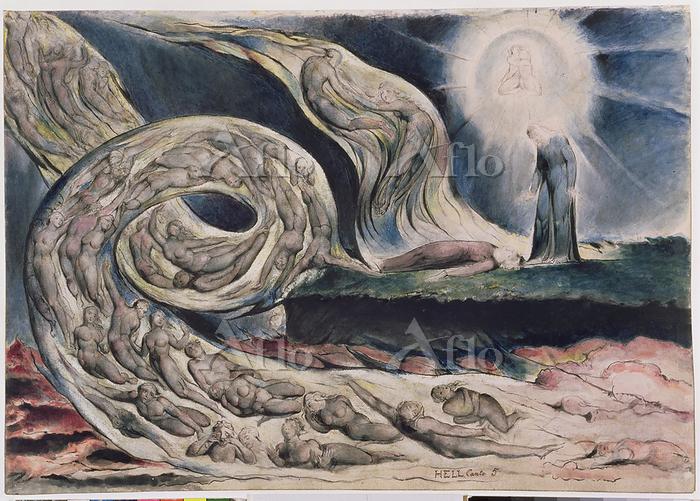 ウィリアム・ブレイク ダンテの神曲「地獄篇」より