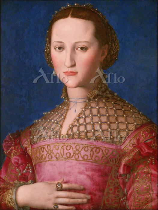 ブロンズィーノ「エレオノーラ・ディ・トレドの肖像」