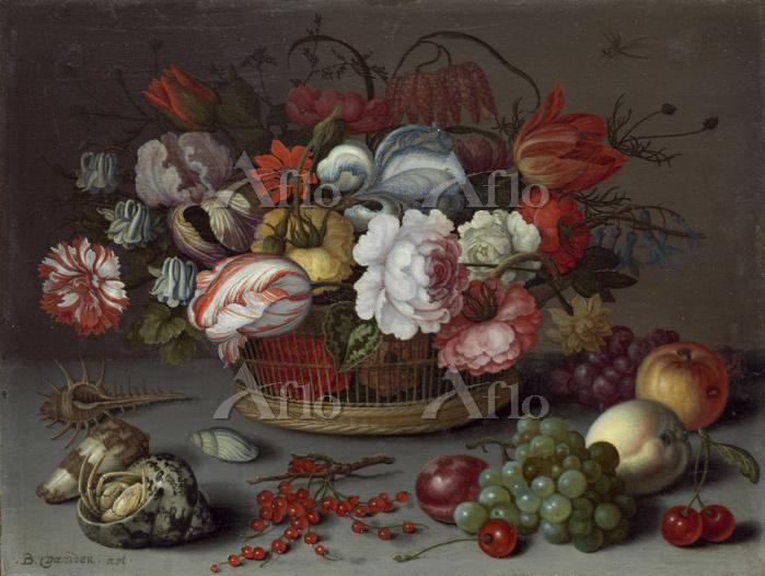 バルタザール・ファン・デル・アスト「籠に入った花」