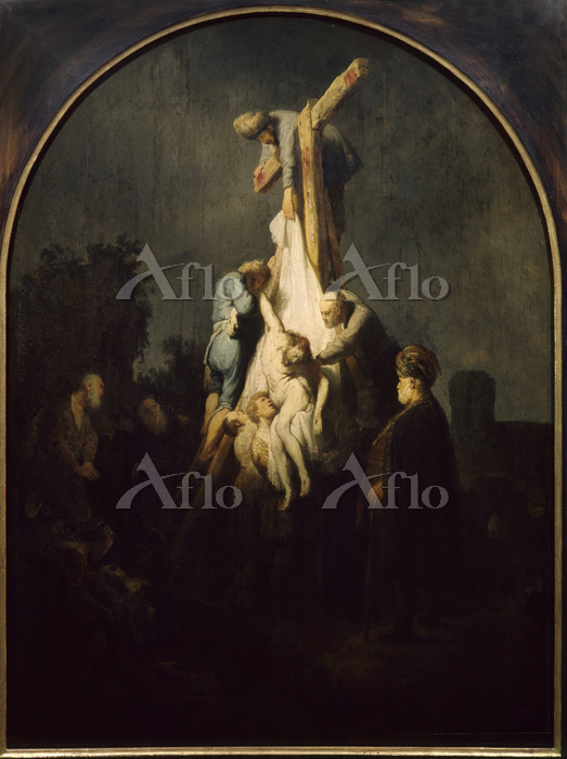 レンブラント 「十字架降下」