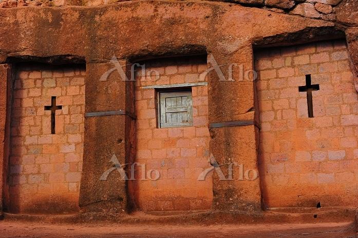 エチオピア ラリベラ 岩窟教会