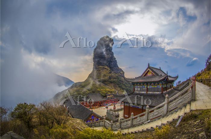 中国  貴州省  梵浄山