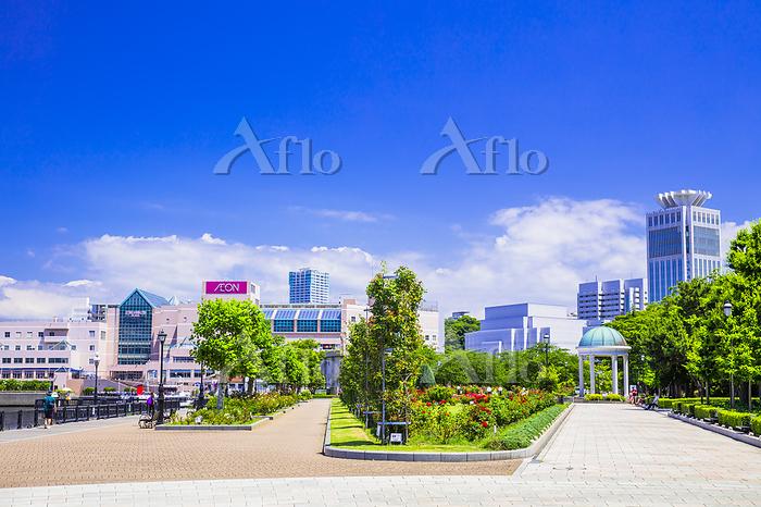 神奈川県 横須賀港とヴェルニー公園