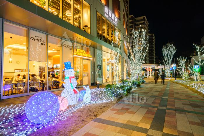 福岡県福岡市中央区_六本松421 クリスマス2017