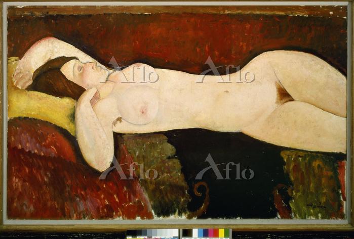 アメデオ・モディリアーニ 「横たわる裸婦」