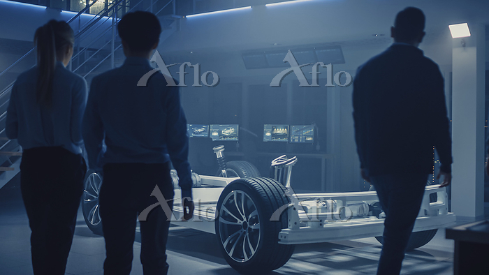 Automobile design engineers en・・・
