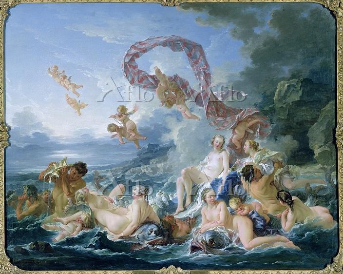 フランソワ・ブーシェ 「ヴィーナスの勝利」