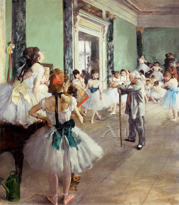 ドガ   「バレエの授業」