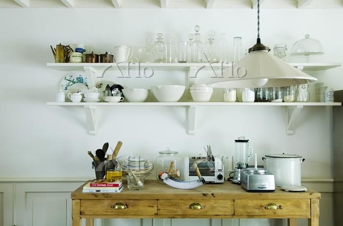 インテリア アンティーク家具のキッチン
