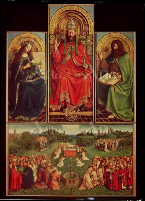 ヤン・ファン・エイク 「ゲントの祭壇画」