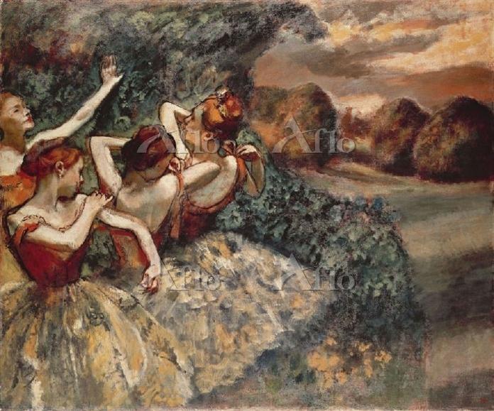 ドガ 「踊り子たち 1899 」