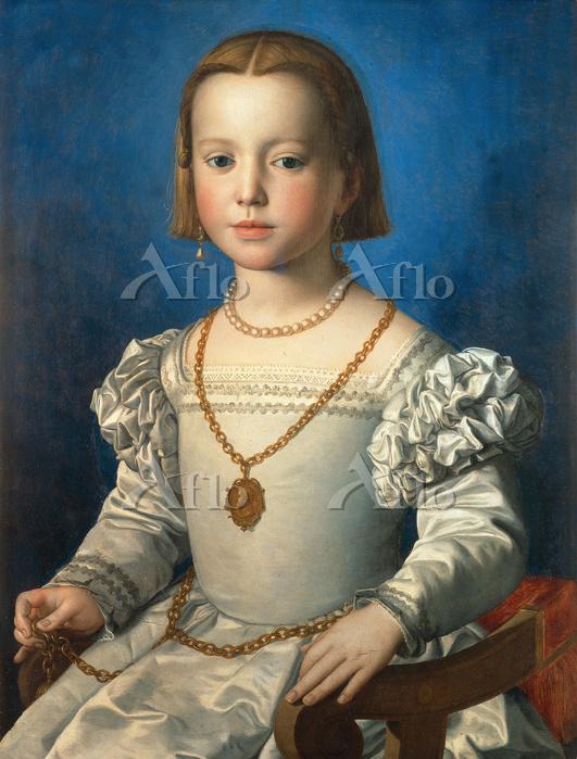 ブロンズィーノ 「ビア・ディ・メディチの肖像」