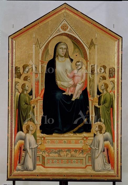 ジョット 「オニサンティの聖母(荘厳の聖母)」