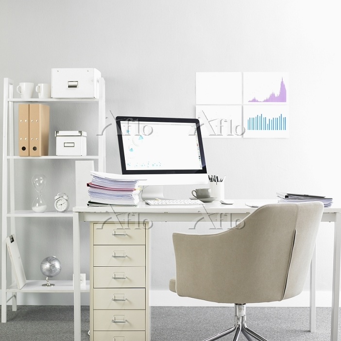 a working desk with some data ・・・