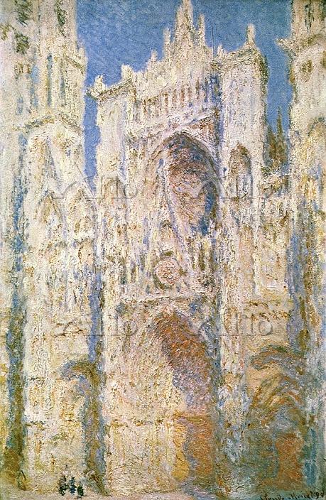 クロード・モネ 「ルーアン大聖堂 西面、陽光 」