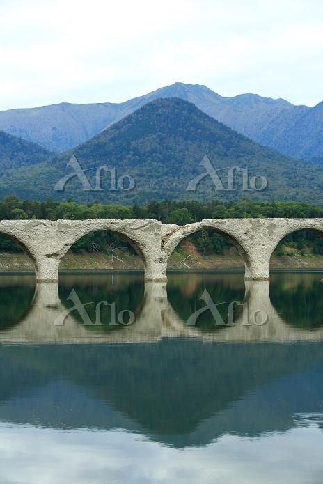 北海道 上士幌町 タウシュベツ川橋梁
