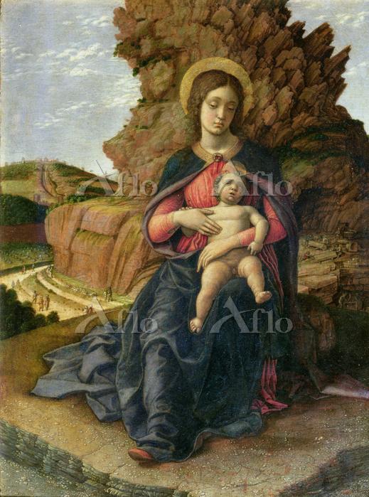 マンテーニャ 「石切り場の聖母」