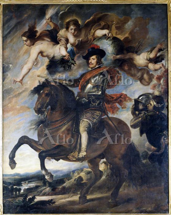ルーベンス 「フェリペ4世騎馬像」