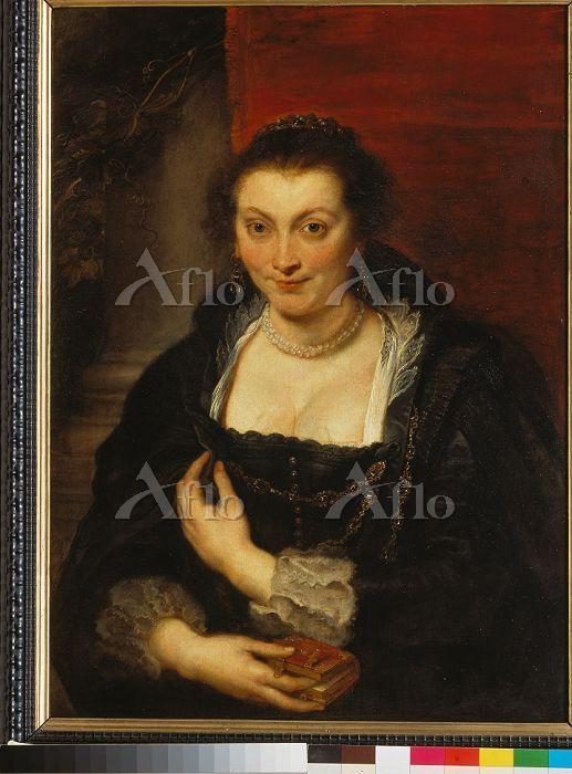ルーベンス「イザベラ・ブラントの肖像」