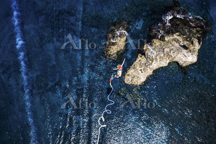 Greece, Crete, Bungee Jumping,・・・