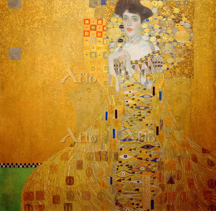 クリムト  「アデーレ・ブロッホ=バウアーの肖像 I」