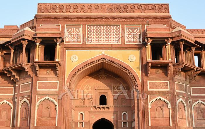 インド アーグラ城塞 ジャハーンギール宮殿