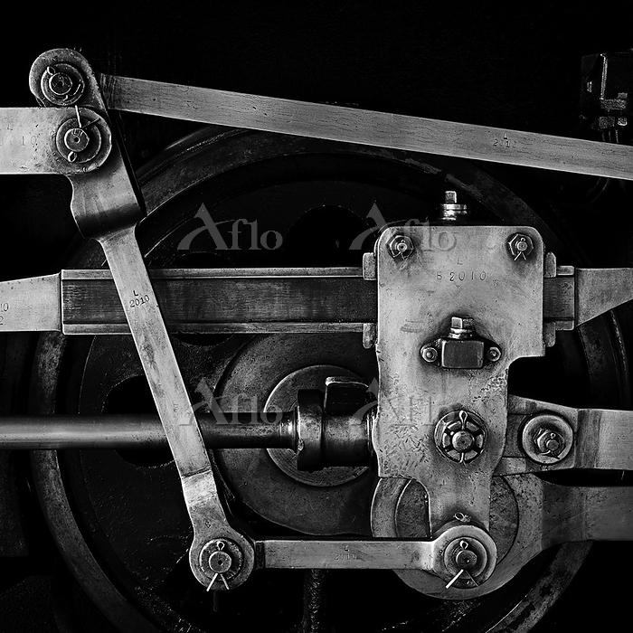 B20型蒸気機関車 動輪&クロスヘッド