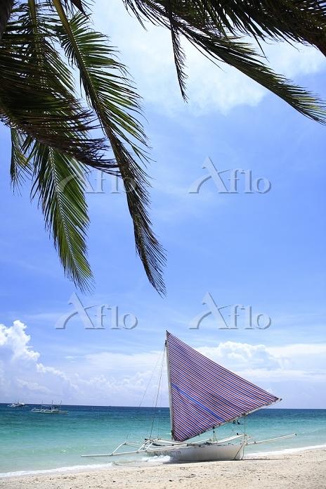 フィリピン ボラカイ島 南の島 ビーチ