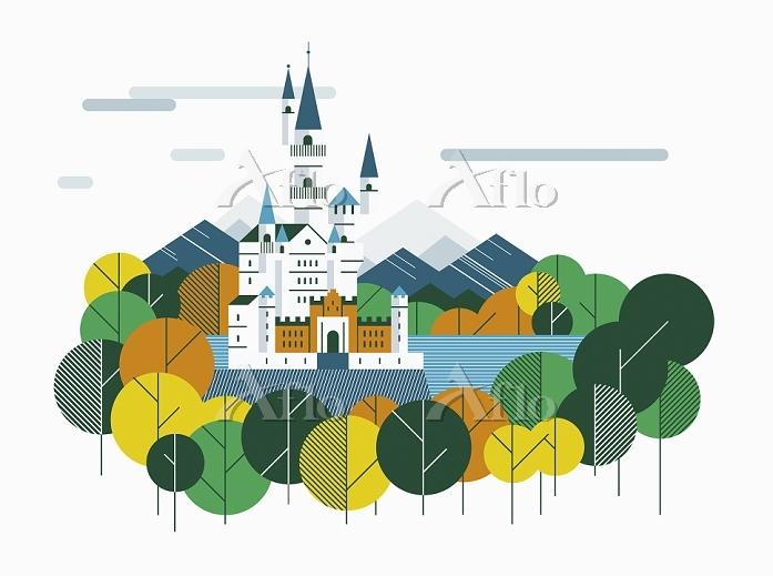 Neuschwanstein Castle, Bavaria・・・