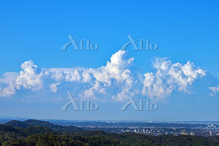 神奈川県相模原市 積乱雲