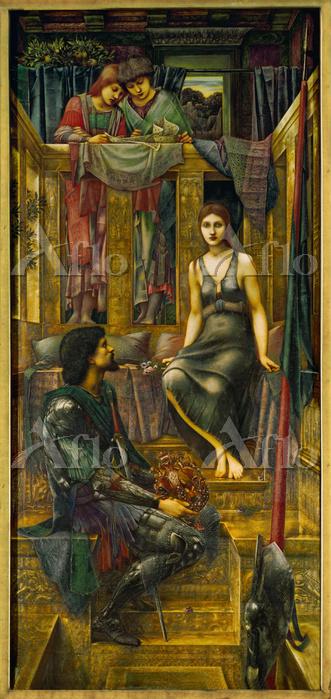 エドワード・バーン=ジョーンズ「コフェテュア王と乞食娘」