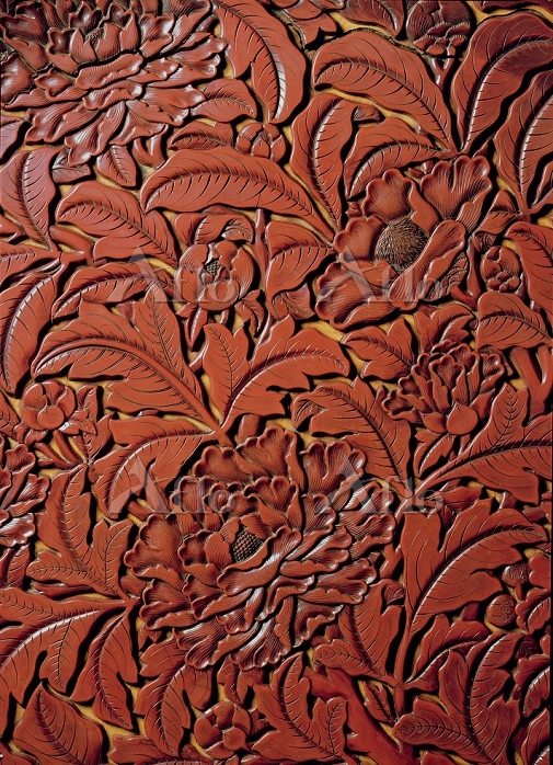 Title:Detail from a carved dis・・・