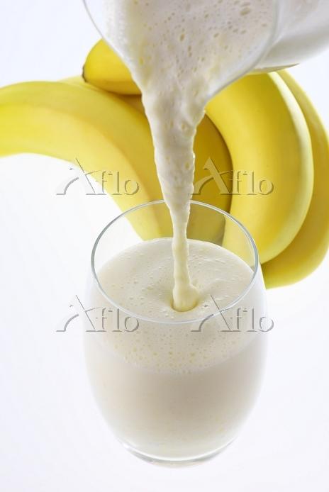 バナナ飲み物