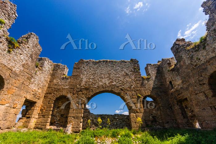トルコ アンタルヤ アスペンドス遺跡